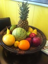 Mon panier de fruits!